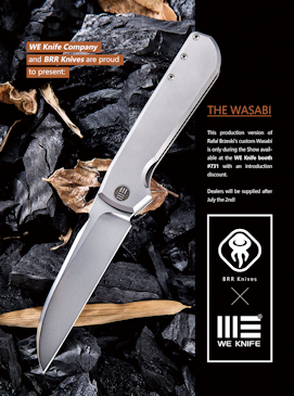 WE Knife WASABI