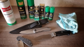 Knife care and maintenance